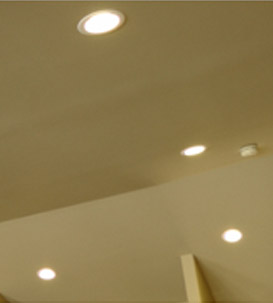 LED lighting for lower energy use