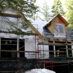 Insulation, air and moisture barrier