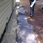 Home foundation drainage in Arnold, CA