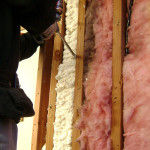 Foam insulation for air sealing
