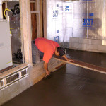 Basement floor insulation in Calaveras County