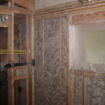 Wall insulation for energy efficiency