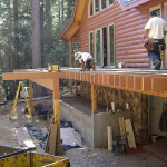 Deck construction in Arnold, CA