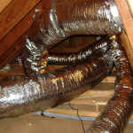 Duct system insulated