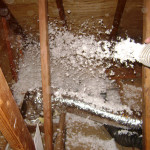Blowing insulation R50