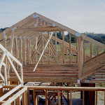 Truss roofing for green building construction