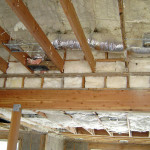 Quality insulation of ceiling