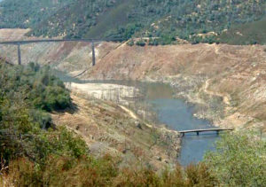 Water Drought California - Calaveras County