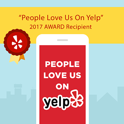 2017 Yelp Award Recipient, Angels Camp