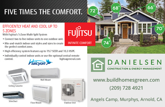 Fujitsu General Ductless Mini-Split Systems